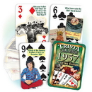 Partypro PC1957 1957 Trivia Playing Cards