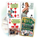 Partypro PC1958 1958 Trivia Playing Cards