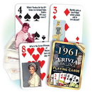 Partypro PC1961 1961 Trivia Playing Cards