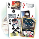 Partypro PC1965 1965 Trivia Playing Cards