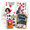 Partypro PC1966 1966 Trivia Playing Cards