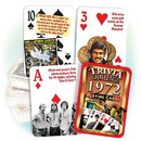 Partypro PC1972 1972 Trivia Playing Cards