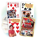 Partypro PC1978 1978 Trivia Playing Cards