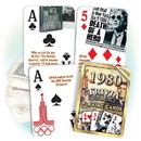 Partypro PC1980 1980 Trivia Playing Cards