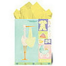 Partypro  Betsey'S Stork (With Glitter) Med Gift B