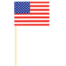 USA HANDHELD FLAG CLOTH  (4X6 IN.)