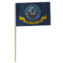 Partypro FL400-02 Us Navy Flag (Cloth) 4X6 In.