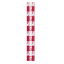 Partypro 4015RDG 40 In.X150 Ft. Red Gingham Table Roll