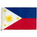 Partypro FL130-25 Philippines Handheld Flag (4X6 In.)