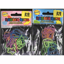 SILLY SHAPE RUBBER BAND RINGS 20/PK