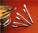 Partypro 532T Ice Cube Tongs Stainless Steel 6.25In.