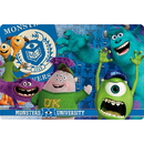 Partypro MNSD-1300 Discontinued Monsters U Plastic Placemat