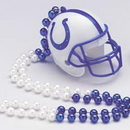 Partypro 1009140 Indianapolis Colts Beaded Helmet Necklce