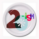 Partypro 1PL2625 The Big Day! Dessert Plate 20Ish (7In.)