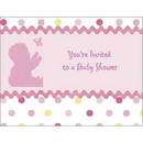 Partypro 1INV3584 Tickled Pink Invitation