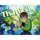 Partypro 1THK2458 Ben 10 Alien Force Thank You Note