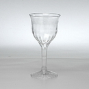 Partypro EMI-REWG28 Fluted 6Oz Wine Glass (2 Piece)