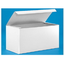 Partypro S-7092 White Gloss Gift Box 12 X 6 X 6