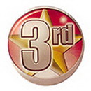 Partypro DM703 3Rd Place Adhesive Button 2