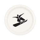 Partypro TQP-005 Snowboard Dessert Plate (8/Pkg)