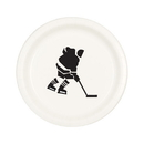 Partypro TQP-008 Hockey Dessert Plate (8/Pkg)