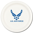 Partypro TQP-14 Air Force Dessert Plate (8/Pkg)