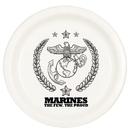 Partypro TQP-23 Marines Dessert Plate (8/Pkg)