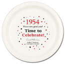 Partypro TQP-44 1954 Time To Celebrate Dinner Plate