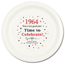 Partypro TQP-50 1964 - Time To Celebrate Dinner Plate