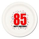 Partypro TQP-234 85Th Birthday Dinner Plate 8-Pkg