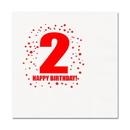 Partypro TQP-250 2Nd Birthday Luncheon Napkin 16-Pkg