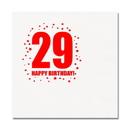 Partypro TQP-277 29Th Birthday Luncheon Napkin 16-Pkg