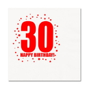 Partypro TQP-278 30Th Birthday Luncheon Napkin 16-Pkg
