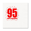 Partypro TQP-343 95Th Birthday Luncheon Napkin 16-Pkg