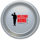 Partypro TQP-505 Welcome Home Dinner Plate 8/Pkg
