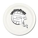Partypro TQP-520 Volleyball Gal Dessert Plate 8/Pkg