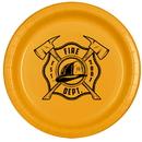 Partypro TQP-531 Fireman Dessert Plate 8/Pkg
