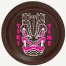 Partypro TQP-893 Tiki Time Dessert Plate 8/Pkg
