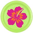 Partypro TQP-896 Aloha Dessert Plate 8/Pkg