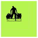 ZOMBIE ZONE LUNCH NAPKIN