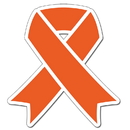 Partypro TQP-2079 Cancer Aware Orange Ribbon 16Inch Decoration