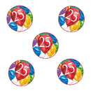 Partypro TQP-3626 25Th Birthday Balloon Blast Deco Fetti