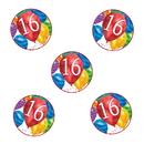 Partypro TQP-3635 16Th Birthday Balloon Blast Deco Fetti