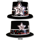 Partypro TQP-4001 76Th Birthday Time To Celebrate Top Hat
