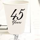 Partypro TQP-4918 45 Years Classy Black Cup