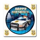 Partypro TQP-5687 Police Party Coaster