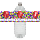 Partypro TQP-6273 1St Balloon Blast Water Bottle Label