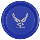 Partypro TQP-8497 Air Force Silver Wing Dinner Plate