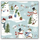 Partypro IG59903-3 Snowman Winter Wishes Gift Wrap