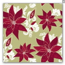 Partypro IG59906-2 Large Poinsetta Gift Wrap